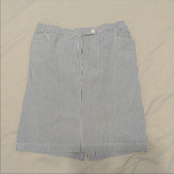 Liz Lange for Target Dresses & Skirts - Seersucker maternity skirt